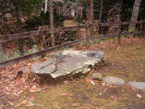 見晴公園 天竜の石