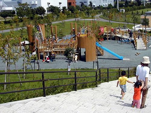 昭和公園 大型遊具