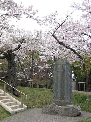函館公園 浅田松翁之碑