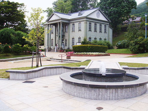 元町公園 旧北海道庁函館支庁庁舎 (元町観光案内所)